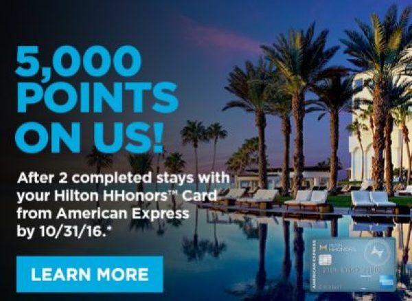 Amex Hilton 5000