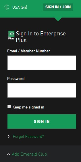 Enterprise Enterprise Plus Sign-In