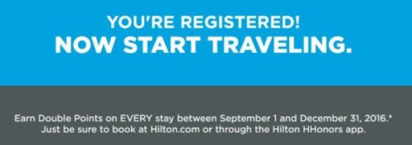 Hilton DoubleUp Registered