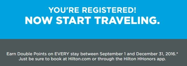 Hilton DoubleUp Registered