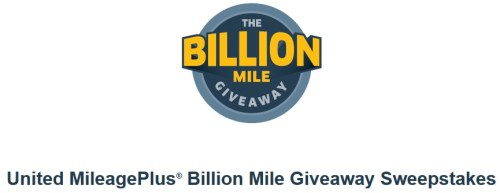 United Billion Mile Gievaway