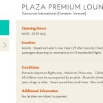 New Priority Pass Lounge in Vancouver