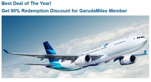Garuda 90% Off Award Promotion