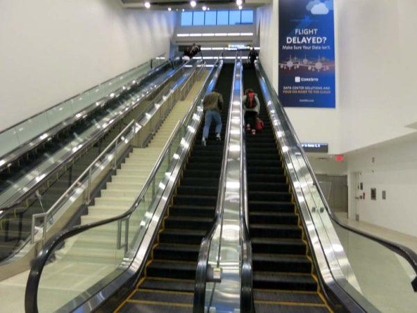 IAD Escalator