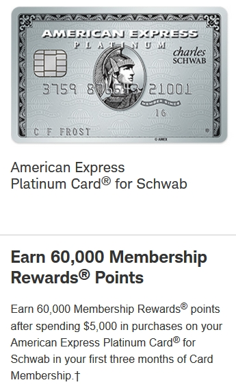 Charles Schwab Platinum 60k