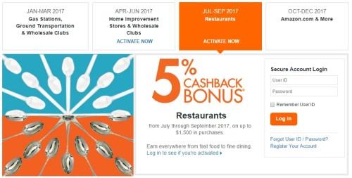 Discover 2017 Q3 Restaurants
