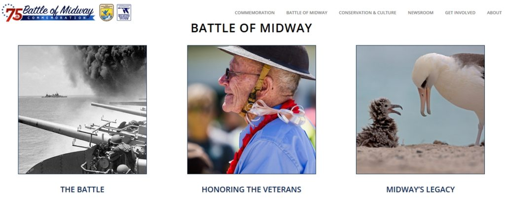 Battle of Midway 75th Commemoration