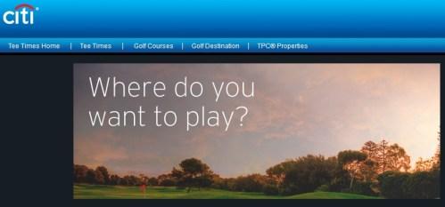 Citi Prestige Golf