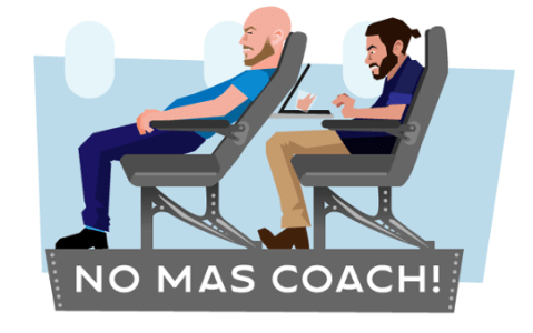 No Mas Coach logo
