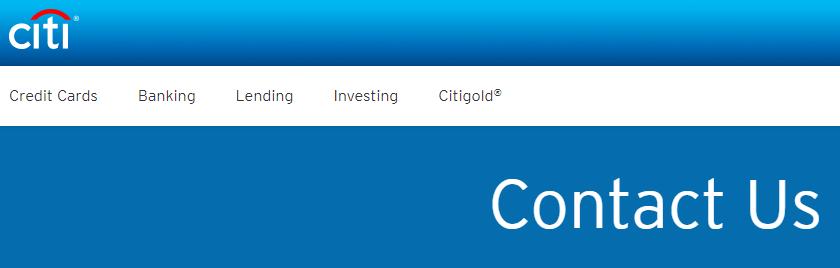 Citi Contact Us