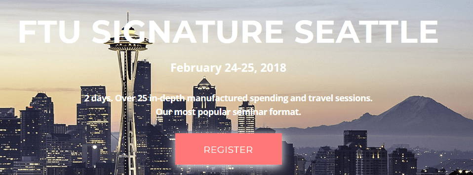 FTU Seattle 2018: Black Friday $30 Off + Free Book + Welcome Dinner for First 100 Tickets