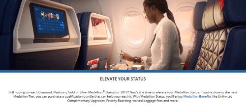 Delta Elevate Your Status 2018