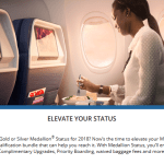 Delta Launches Elevate Your Status to Buy Your Way Up