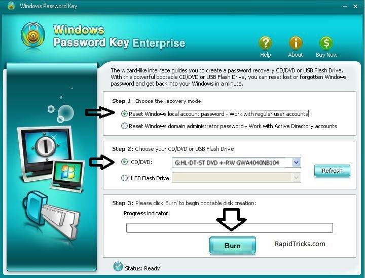 how to break windows 8 password
