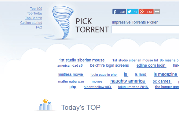 Top 10 Torrent Sites