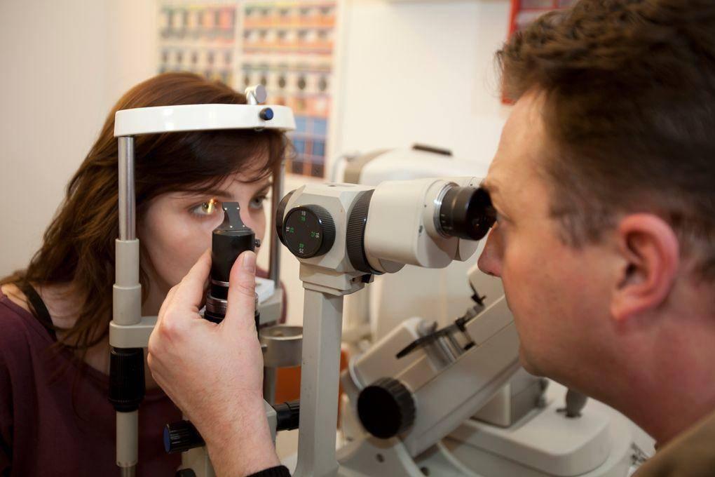 biomikroszkópos szemvizsgálat