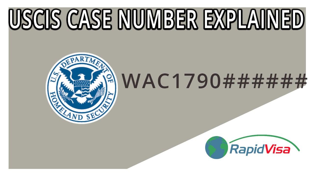 USCIS Case Numbers Explained