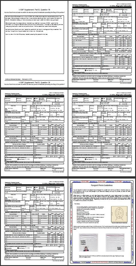 K1 Fianc Visa Petition Sample  RapidVisa