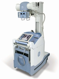 GE Definium AMX 700 portable x-ray