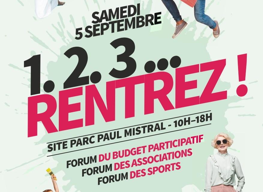 Forum des sports le samedi 5 septembre !