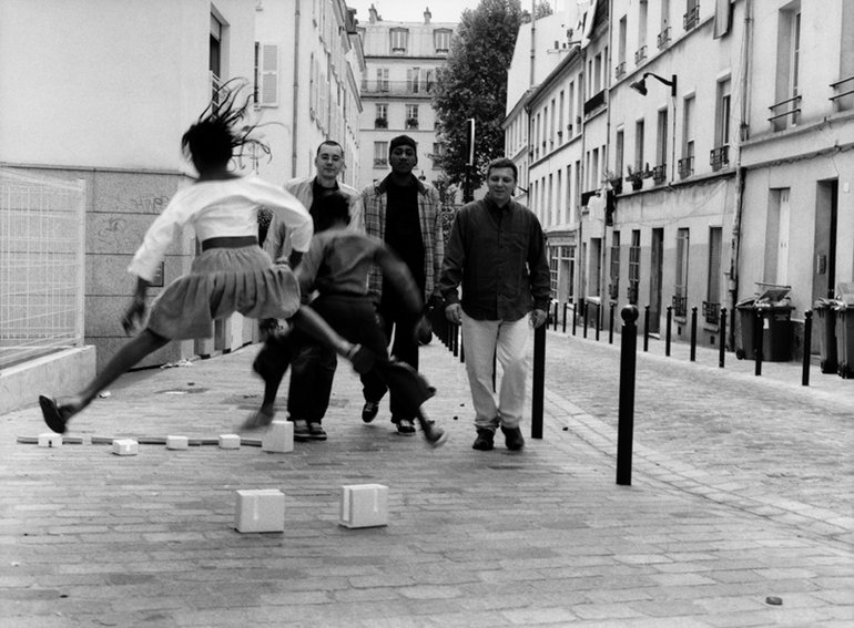 """Jazz Liberatorz em Paris. Imagem da capa do disco """"Clin D'oeil""""."""