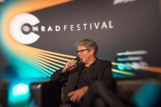 Festiwal Conrada - spotkanie z Jonathanem Franzenem, Fot. Tomasz Wiech