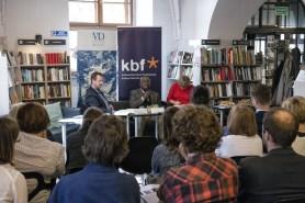 Felix Kaputu, spotkanie w De Revolutionibus Books&Cafe