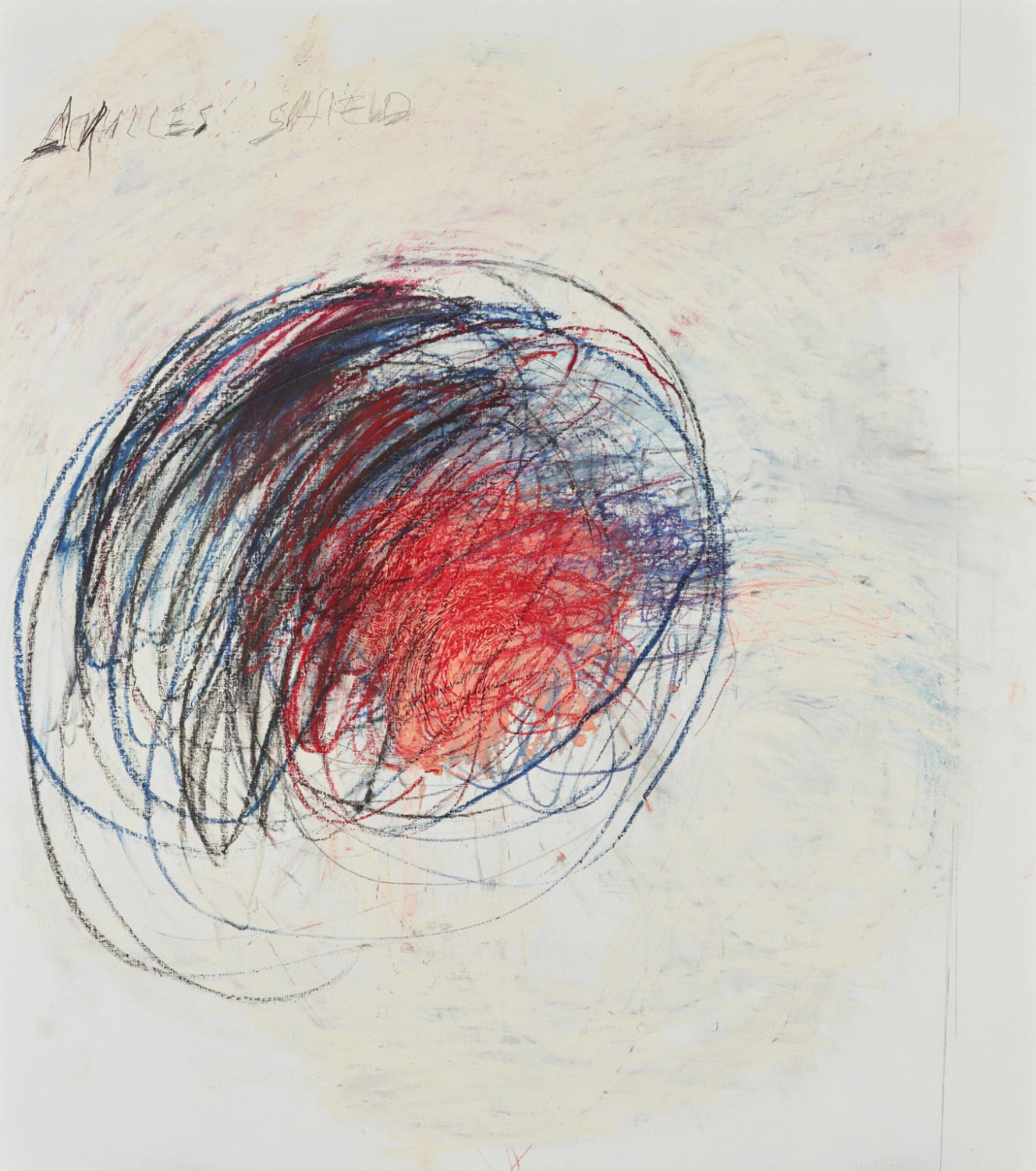 Cy Twombly, Fifty Days at Iliam: Shield of Achilles, 1978, Courtesy of Philadelphia Museum of Art, Gift (by exchange) of Samuel S. White 3rd and Vera White, 1989, 1989-90-1, © Cy Twombly Foundation