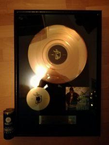 WTF Goldene Schallplatte von Bushido wird versteigert
