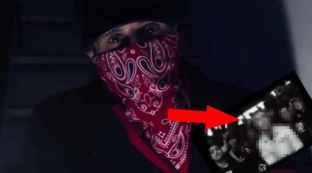 Video aufgetaucht AK Ausserkontrolle ohne Maske