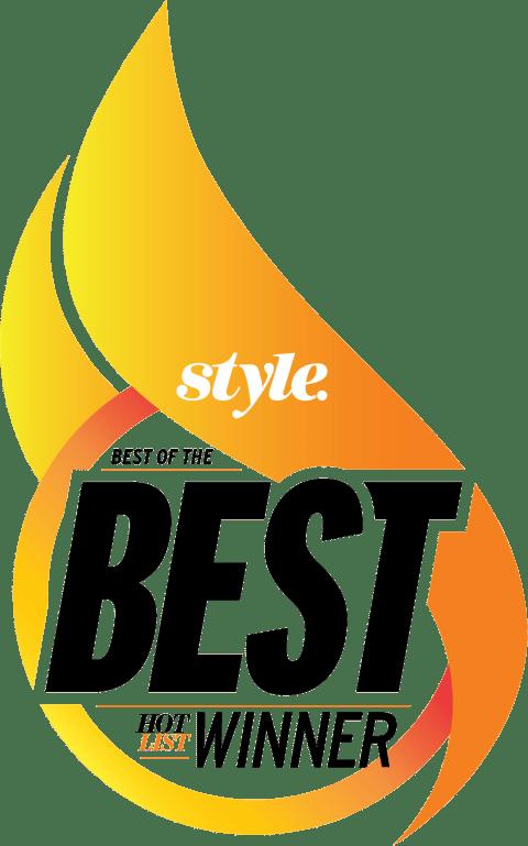 style. Best of the Best Hot List Winner