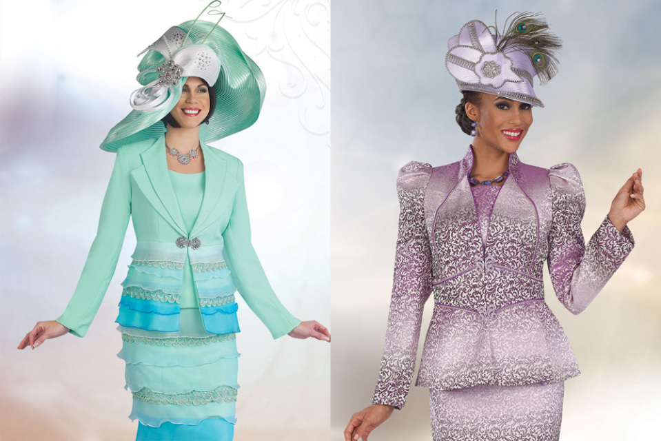 2016, 2017 Womens Church Hats, Ladies Church Suits, Women
