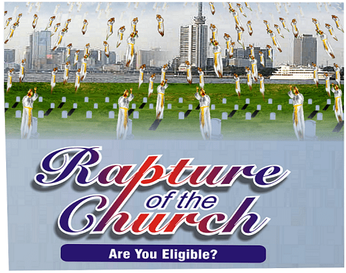 Rapture Is Judgment of Christians