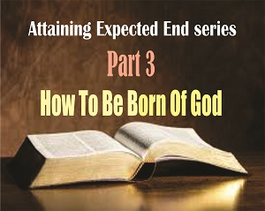 ATTAINING EXPECTED END Part 3: How to Be Born Of God