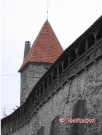 Guard tower in the city wall
