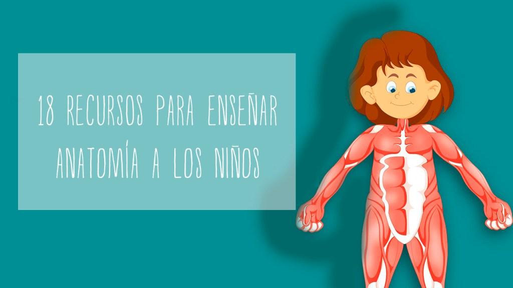 18 recursos para enseñar anatomía a los niños