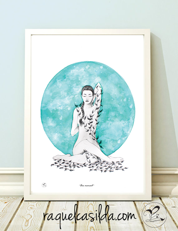 'Our moment' Giclee Print