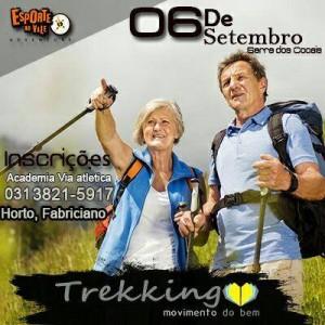 Trekking do Bem vale para todas as idades, ok?