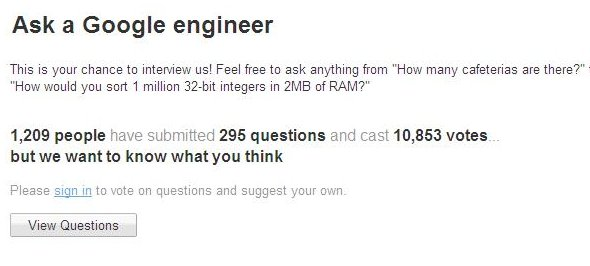 Ingenieros de google