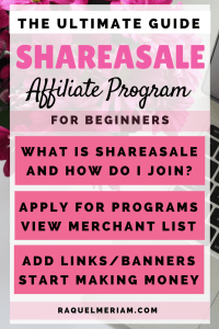Want to learn how to use ShareASale's Affiliate Program to start making money today? Follow this easy process showing you how to join, applying for individual affiliate programs, adding links and banners and in turn making money.