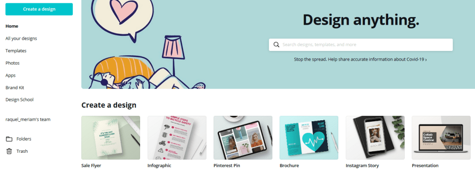 Canva - Create a Design