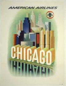 chicago-american-airlines-vintage-travel-poster