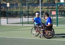 Ténis em Cadeira de Rodas