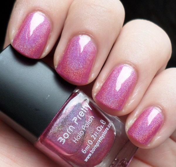 Born Pretty Store Holographic Nail Polish RaRa Reid