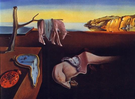 Salvador Dali - Melting Clocks (and Levitating Unicorns)