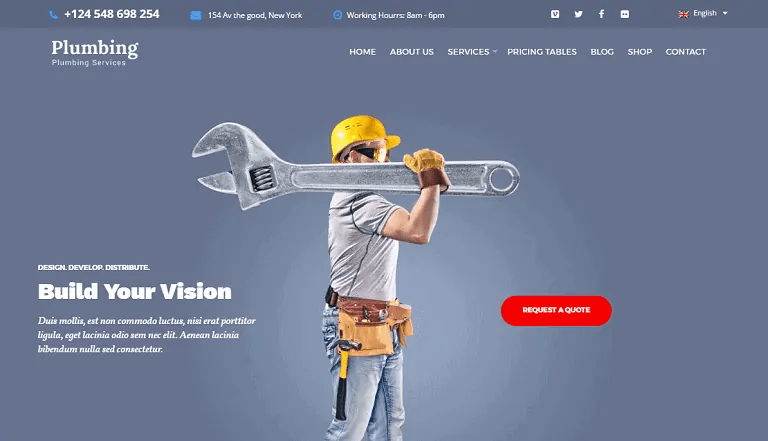 Your plumber wants you to do the right thing. 30 WordPress Themes For Plumbers Heating Companies
