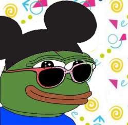 Mickey mouse Pepe