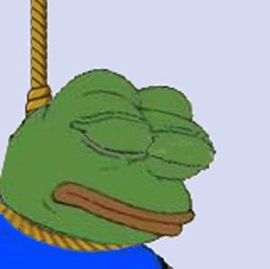 Hanging Pepe
