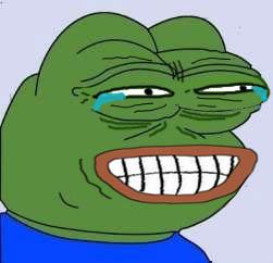 Laughing Pepe