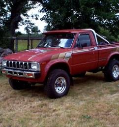 toyota wheel aluminum 1983 toyota sr5 terra cotta pickup truck [ 1280 x 960 Pixel ]